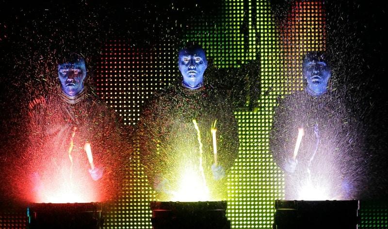 Blue Man Group National Tour Credit photo: ©Paul Kolnik