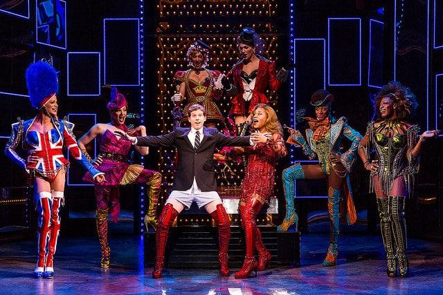 The original Broadway cast of 'Kinky Boots.' Photo by Matthew Murphy.