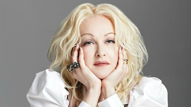 Cyndi Lauper made history in 2013 as the first woman to win the Tony Award for best score without a writing partner. Photo courtesy Cyndi Lauper.