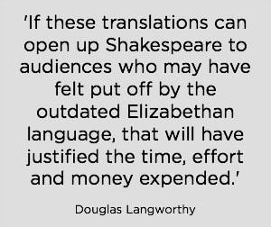 Douglas Langworthy quote.