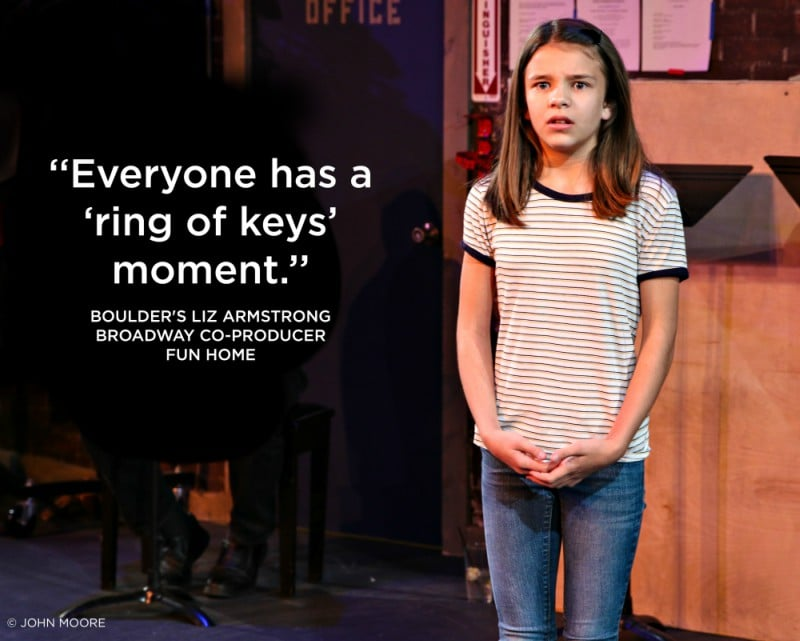 Fun Home. Miners Alley Playhouse. Sophie Dotson. Photo by John Moore..