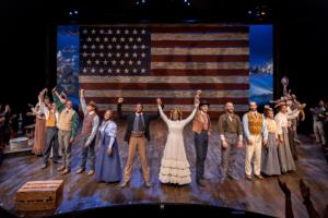 The company of Oklahoma! Photo by AdamsVisCom.