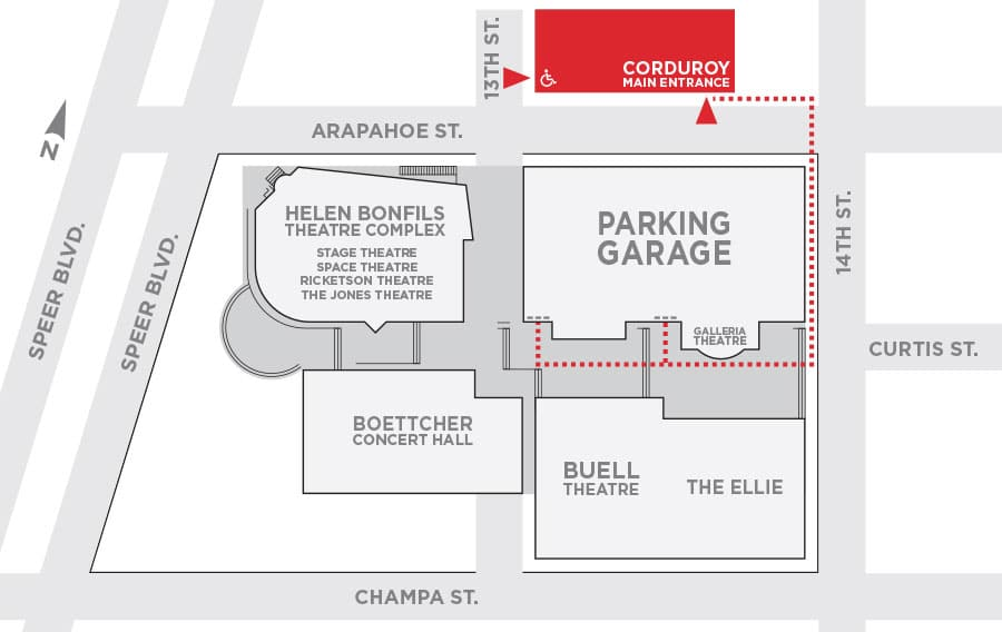 Corduroy Map Garage to Newman