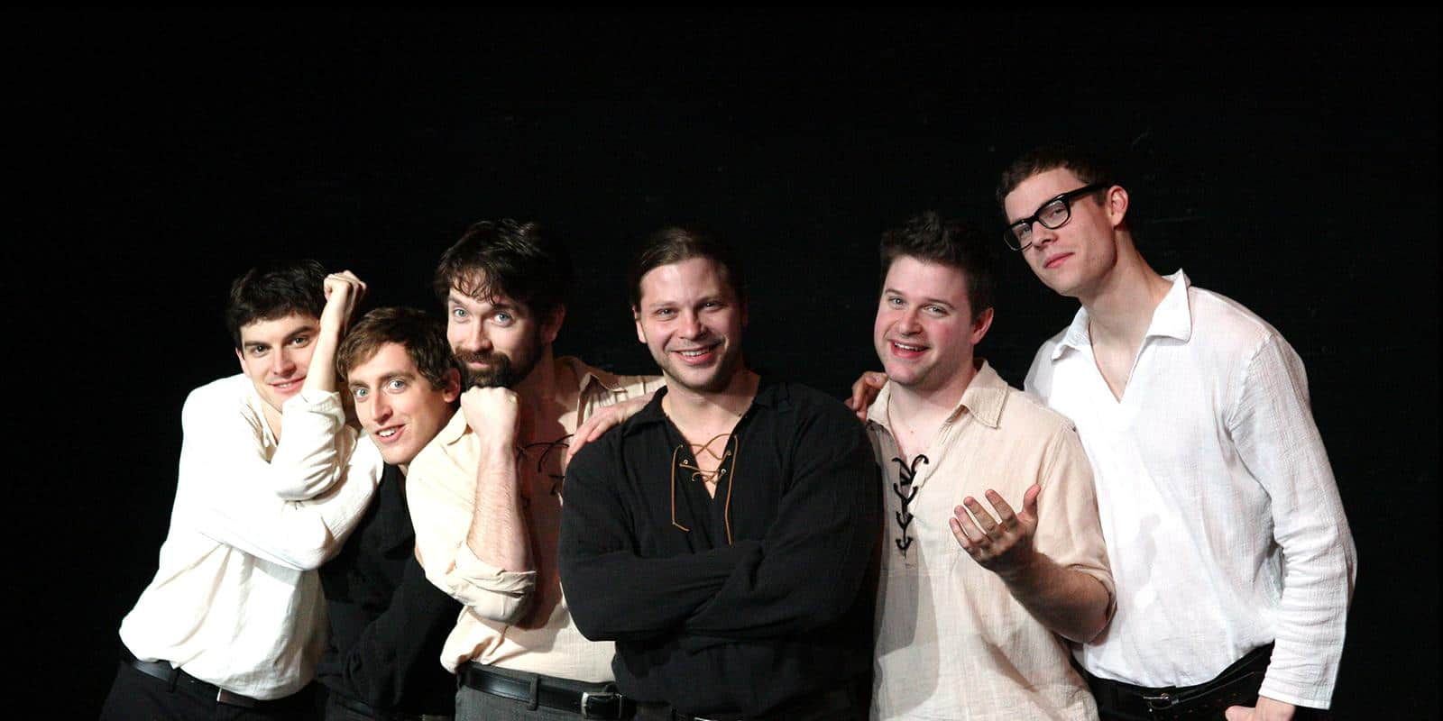 The Improvised Shakespeare Company Photo by Alex Erde