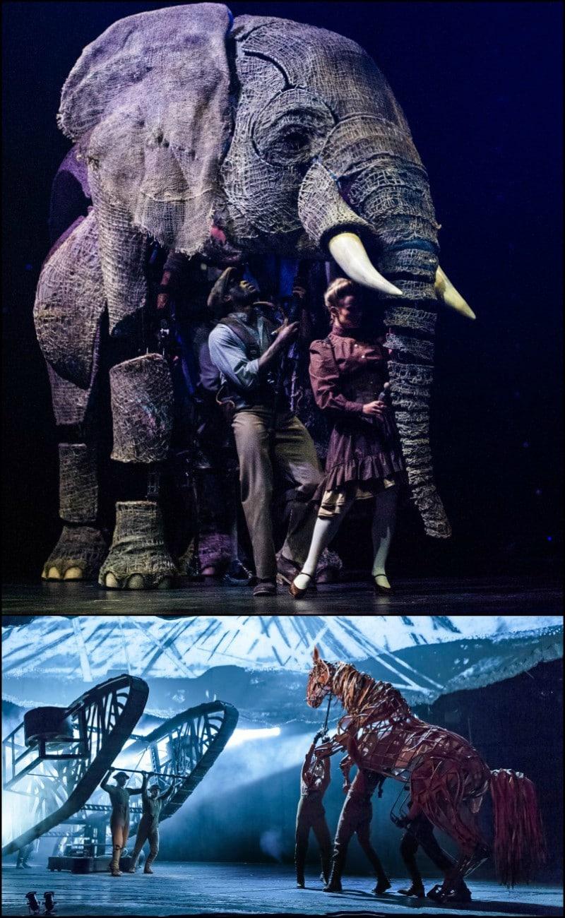 War Horse Circus 1903 Puppets.