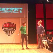 'ComedySportz of Denver' opened last night. Photo courtesy The Avenue Theater.