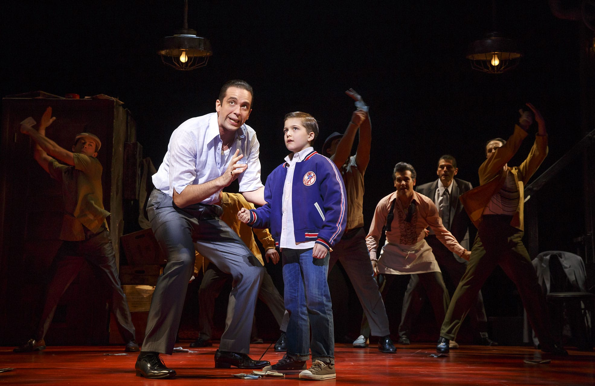 A Bronx Tale - photo by Joan Marcus