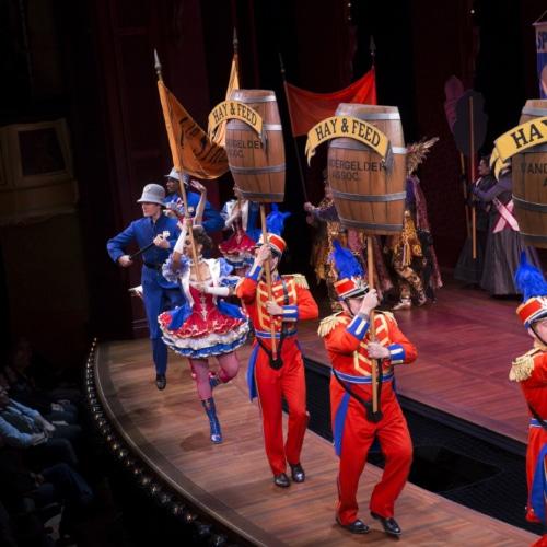 Hello, Dolly! Original Broadway Company of the Tony Award-winning Best Musical Revival – Photograph Julieta Cervantes 2017