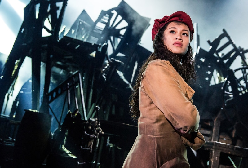 Les Misérables has no shortage of what Maya Angelou called 'she-roes,' including Emily Bautista as Éponine in the new national tour coming to Denver. Photo by Matthew Murphy.