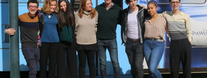 Dear Evan Hansen cast. Photo by John Moore