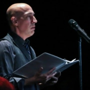 Featured 'The Laramie Project' reading at BDT Stage on October 8, 2018. Pictured_ Nick Sugar. Photo by John Moore