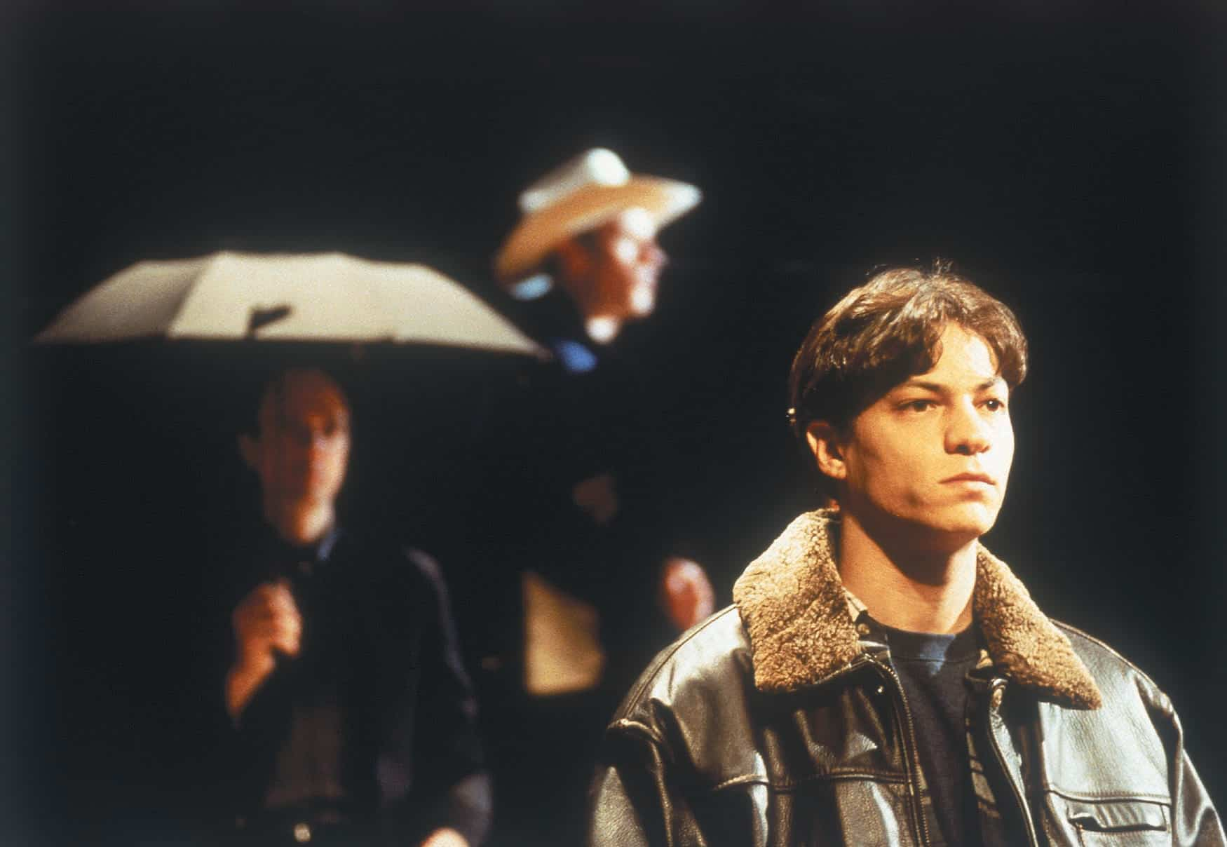 Andy Paris in The DCPA Theatre Company's in 2000. 'The Laramie Project' Photo by Dan McNeil.