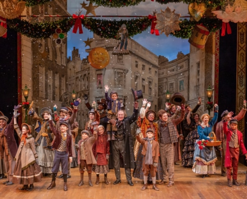 The company of the DCPA Theatre Company's 'A Christmas Carol.' Photo by Adams Viscom.