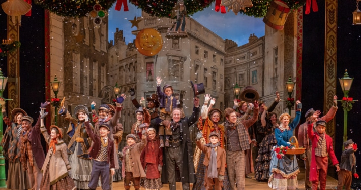 The company of the DCPA Theatre Company's 'A Christmas Carol.' Photo by Adams Viscom.