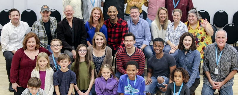 The cast of the DCPA Theatre Company's 2018 production of 'A Christmas Carol.' Photo by John Moore