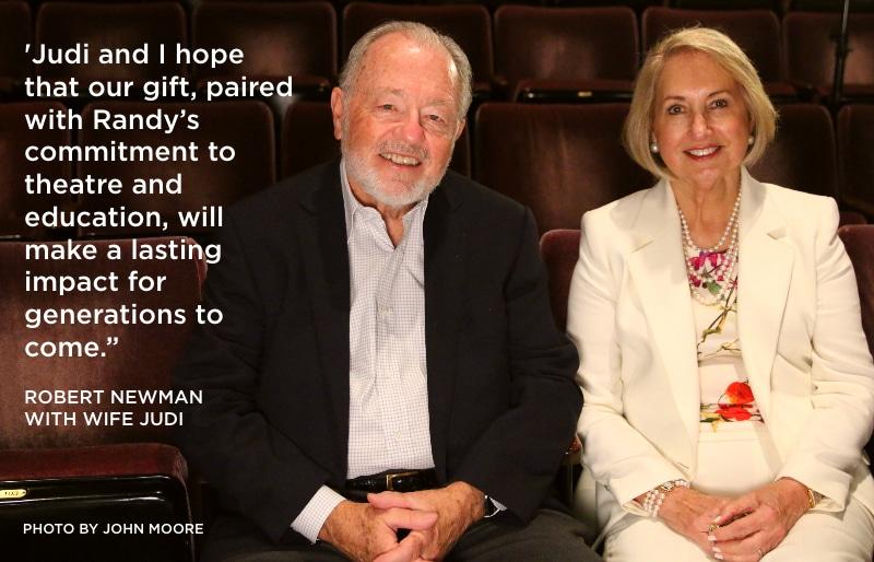 Robert and Judi Newman. Photo by John Moore