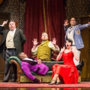The Play That Goes Wrong National Tour. Photo by Jeremy Daniel