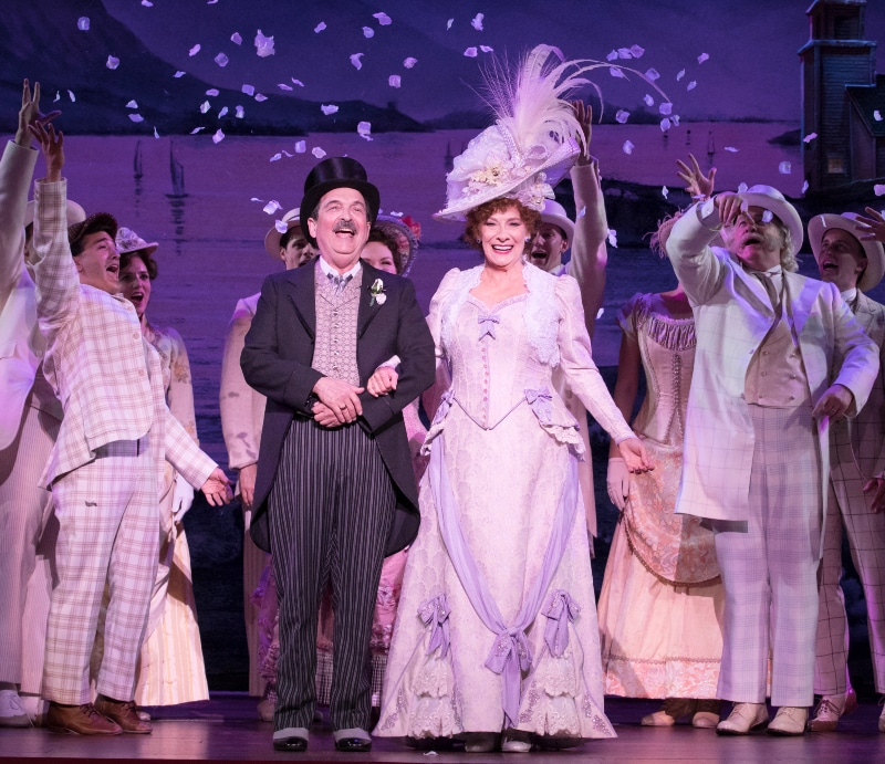 Betty Buckley with the Denver-bound national touring company of 'Hello, Dolly!' Photo Credit: Julieta Cervantes.