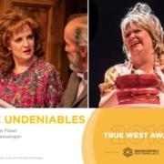 True West Awards Emily Van Fleet and Emma Messenger