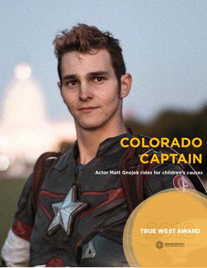 True West Awards Matt Gnojek Colorado Captain