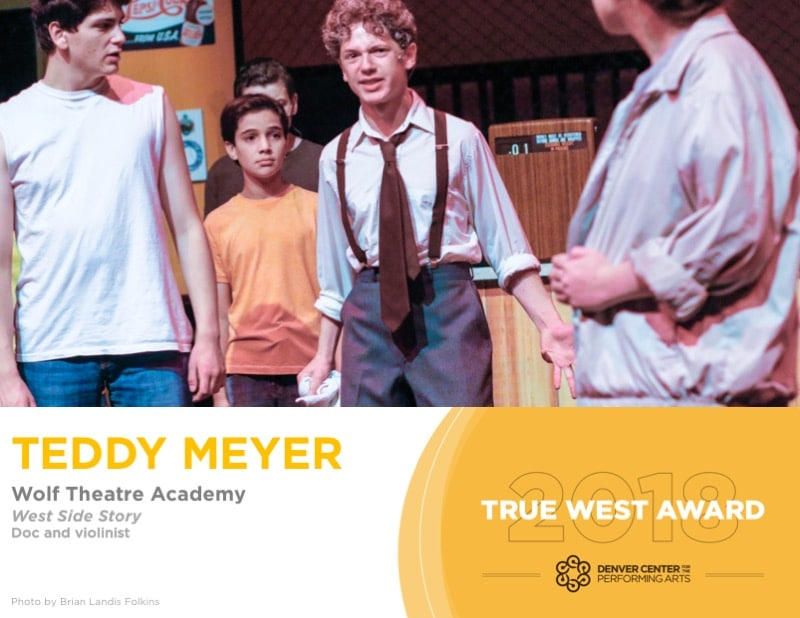 2018 True West Awards Edward Teddy Meyer