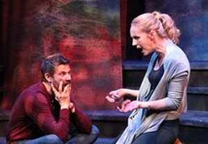 Joshua Blanchard and Claire Kennedy in Constellations