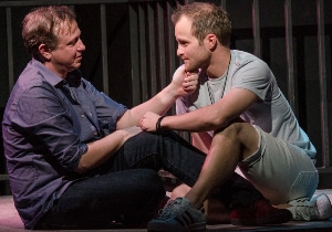Luke Sorge and Matt Schneck in Curious Theatre's 'The Intelligent Homosexual's Guide ...' Photo by Michael Ensminger