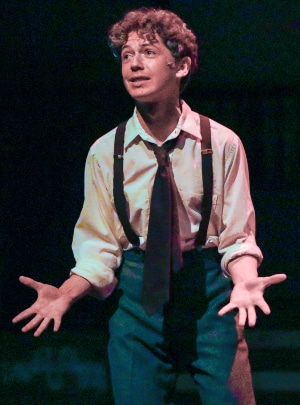 Teddy Meyer in West Side Story. Photo by Brian Landis Folkins
