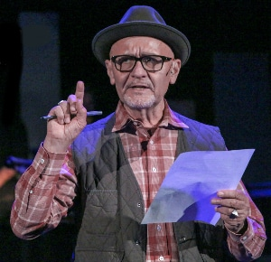 BDT Stage Producer Michael J Duran in 'The Laramie Project.' Photo by John Moore.