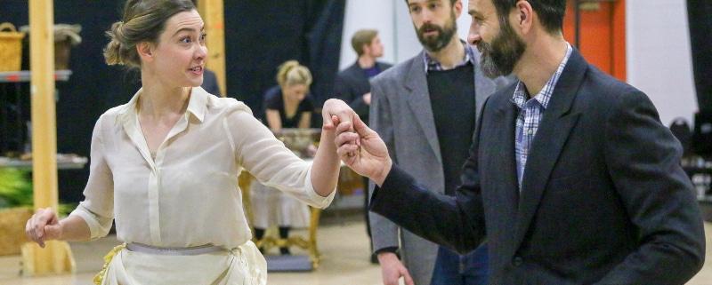 Anna Karenine Rehearsal. Photo by John Moore.
