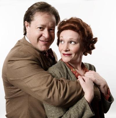 Robert Michael Sanders and Megan Van De Hey 2009 Gypsy. Town Hall.