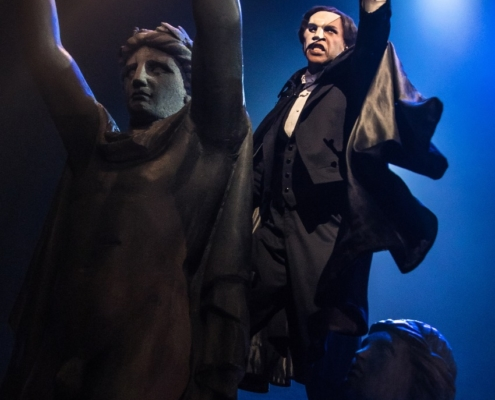 The Phantom - Quentin Oliver Lee - photo by Matthew Murphy