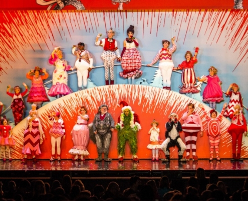 The 2016 Touring Company of Dr. Seuss' HOW THE GRINCH STOLE CHRISTMAS! The Musical