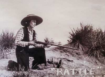 Kate McHale Slaughterbeck, the real Rattlesnake Kate.