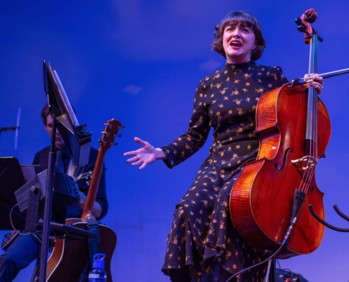 Neyla Pekarek in 'Rattlesnale Kate.' Photo by Adams Viscom.