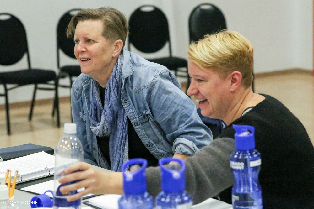 You Lost Me Colorado New Play Summit Wendy C. Goldberg and Bonnie Metzgar Photo by John Moore