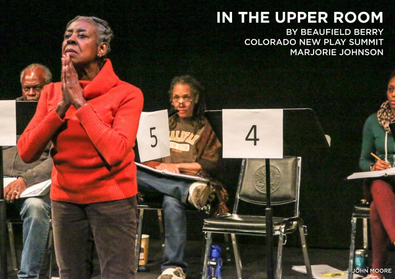 Featured Play In the Upper Room Summit 2019. Marjorie Johnson Photo by John Moore