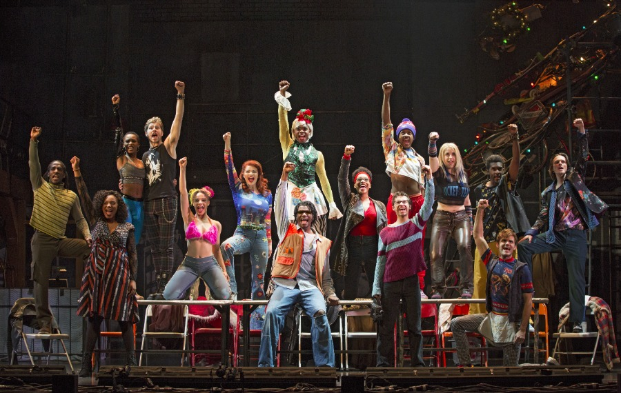 The Company of the RENT 20th Anniversary Tour RENT 20th Anniversary Tour, Credit Carol Rosegg 2018.