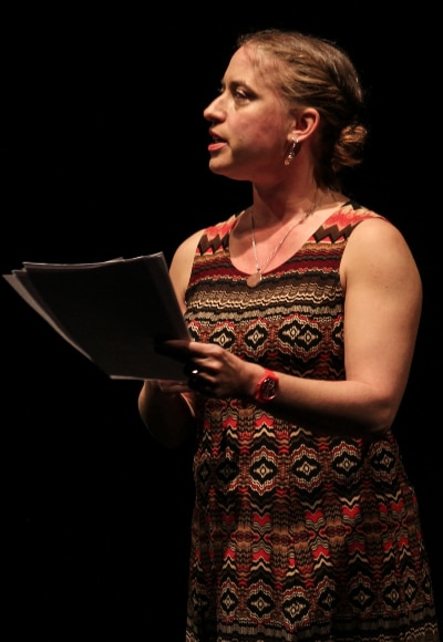 Rebecca Gorman O'Neill 2016 Playwright Slam