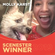 Scenesters Molly Karst