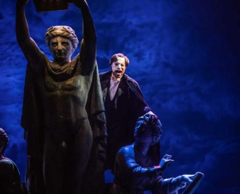 THE PHANTOM OF THE OPERA - Derrick Davis as The Phantom