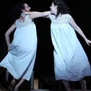 Katrina Lenk and Adina Verson from the original Broadway cast of 'Indecent.' Photo by Carol Rosegg.