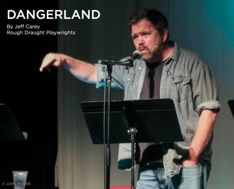 Jeff Carey Rough Draught Playwrights. Photo by John Moore