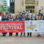 2019 DPS Shakespeare Festival. Parade. Photo by John Moore