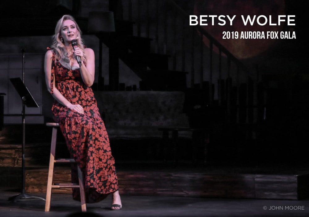 BETSY WOLFE. Photo by John Moore