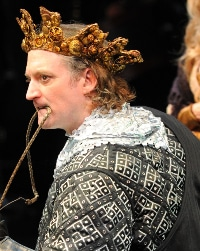 Andrew Long as Richard III for the DCPA Theatre Company in 2009.