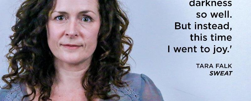 Tara Falk quote Sweat.