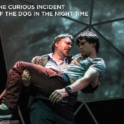 Alex Rosenthal and Michael Morgan in the Boulder Ensemble Theatre Company's production of 'The Curious Incident of the Dog in the Night-Time.' Photo by Michael Ensminger.