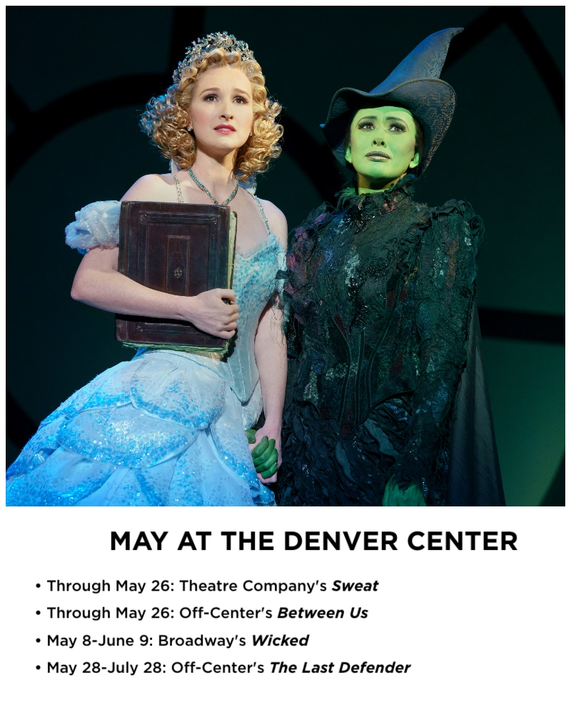Erin Mackey & Mariand Torres in WICKED. Photo by Joan Marcus.
