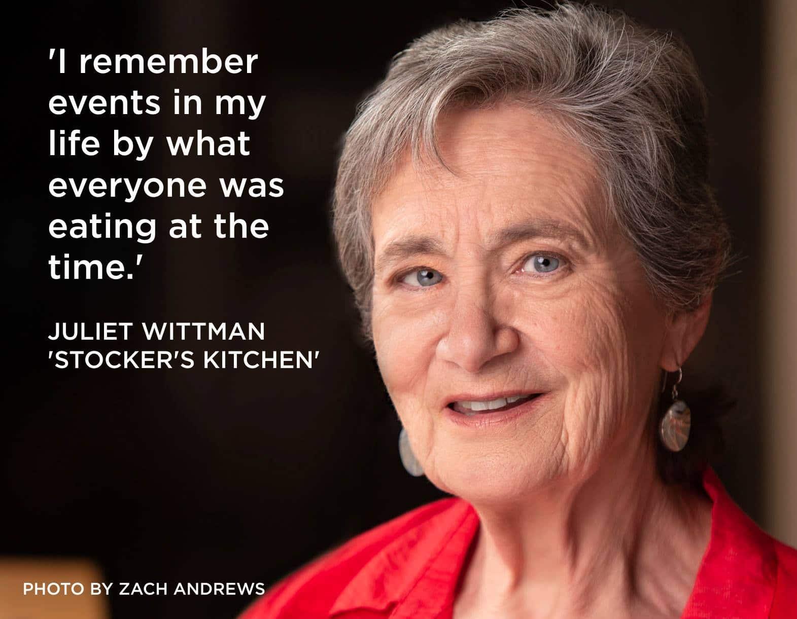 JULIET WITTMAN. Stocker's Kitchen. Photo by Zach Andrews